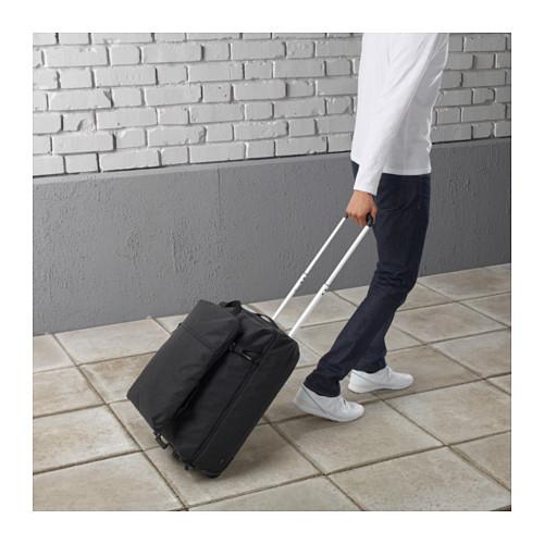 FÖRENKLA - 活輪行李箱連背包, 深灰色 | IKEA 香港及澳門 - PE645975_S4