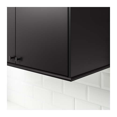 KUNGSBACKA - chamfer decostrip/moulding, anthracite | IKEA Hong Kong and Macau - PE694057_S4