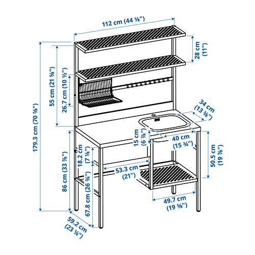 RÅVAROR mini-kitchen