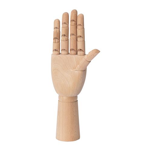 HANDSKALAD - 裝飾品,手, 原木色   IKEA 香港及澳門 - PE694107_S4