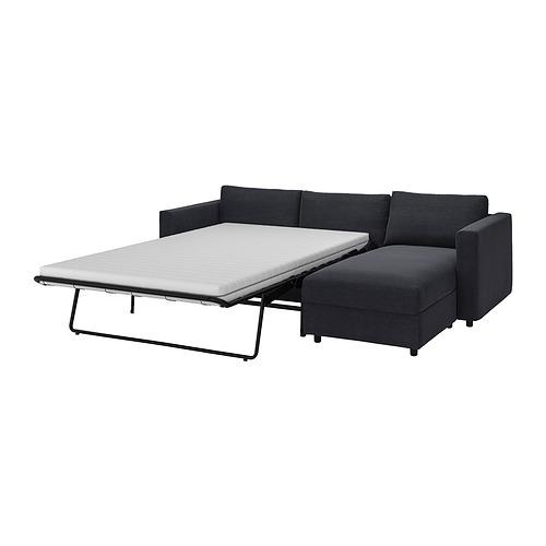 VIMLE - 三座位梳化連躺椅, Saxemara black-blue | IKEA 香港及澳門 - PE835558_S4