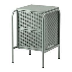 NIKKEBY - chest of 2 drawers, grey-green   IKEA Hong Kong and Macau - PE738505_S3