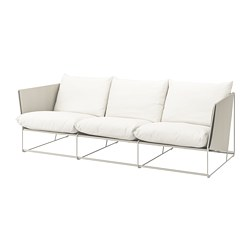HAVSTEN - 3-seat sofa, in/outdoor, beige | IKEA Hong Kong and Macau - PE736629_S3
