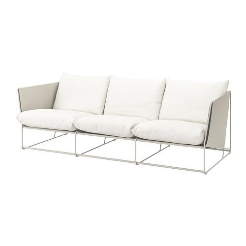 HAVSTEN - 3-seat sofa, in/outdoor, beige   IKEA Hong Kong and Macau - PE736629_S4