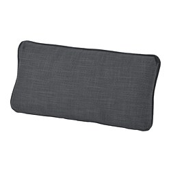 VALLENTUNA - back cushion, Hillared dark grey | IKEA Hong Kong and Macau - PE736655_S3