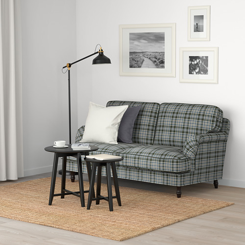 STOCKSUND - 2-seat sofa, Segersta multicolour/black/wood | IKEA Hong Kong and Macau - PE688224_S4