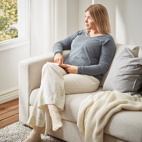 VIMLE - 3-seat sofa, Gunnared beige | IKEA Hong Kong and Macau - PE790125_S4
