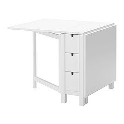 NORDEN - gateleg table, white | IKEA Hong Kong and Macau - PE251365_S3