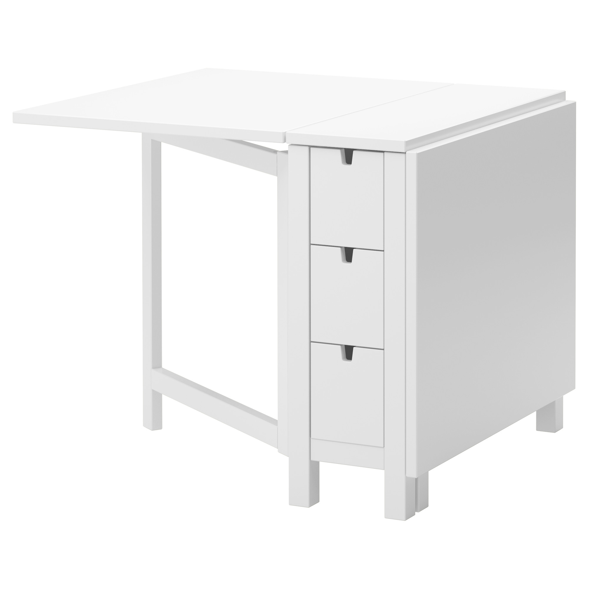 Norden Gateleg Table White Ikea