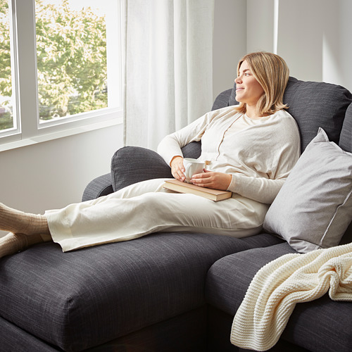 VINLIDEN - 三座位梳化連躺椅, Hillared 炭黑色 | IKEA 香港及澳門 - PE790139_S4