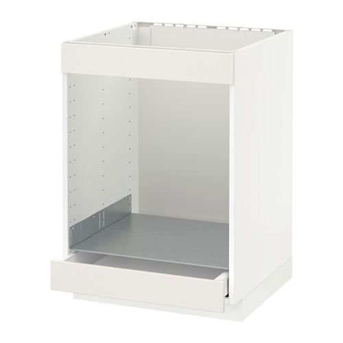 METOD/MAXIMERA base cab for hob+oven w drawer
