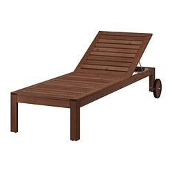 ÄPPLARÖ - sun lounger, brown stained | IKEA Hong Kong and Macau - PE737032_S3