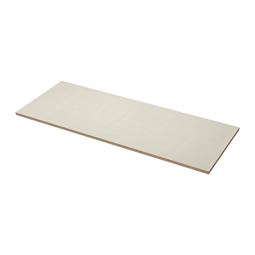 EKBACKEN - worktop, matt beige/patterned laminate | IKEA Hong Kong and Macau - PE737073_S4