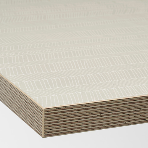 EKBACKEN - worktop, matt beige/patterned laminate | IKEA Hong Kong and Macau - PE737074_S4