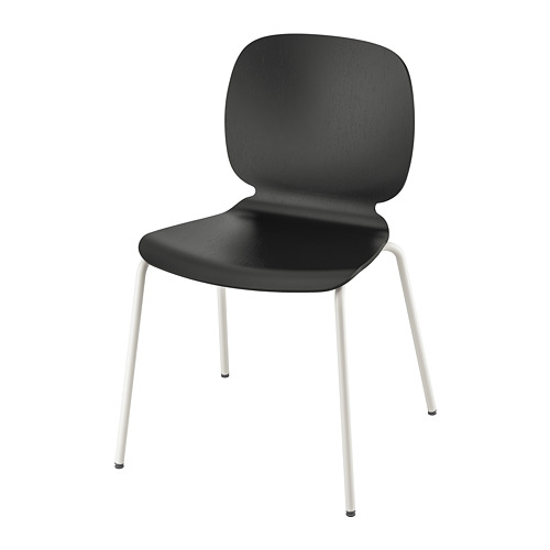 SVENBERTIL - 椅子, 黑色/Broringe 白色 | IKEA 香港及澳門 - PE737161_S4