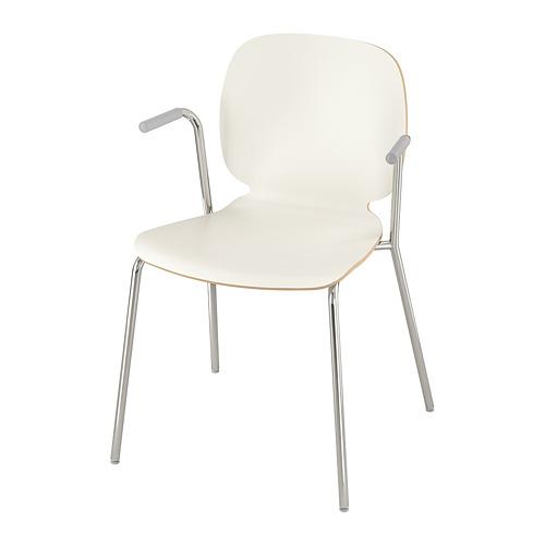 SVENBERTIL chair with armrests