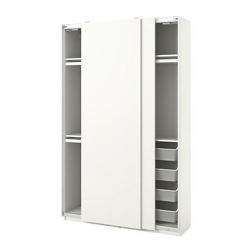 PAX/HASVIK - 衣櫃組合, 白色 | IKEA 香港及澳門 - PE776775_S4