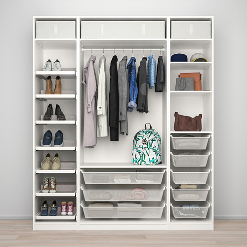PAX/REINSVOLL wardrobe combination