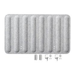 EILIF - 書檯屏風, 80x48 cm, 灰色 | IKEA 香港及澳門 - PE790484_S3