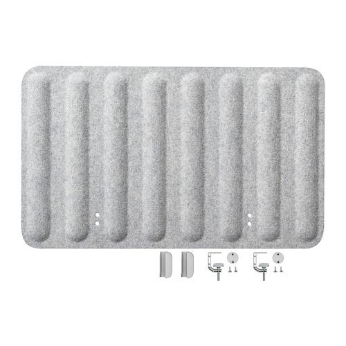 EILIF - screen for desk, 80x48 cm, grey   IKEA Hong Kong and Macau - PE790484_S4