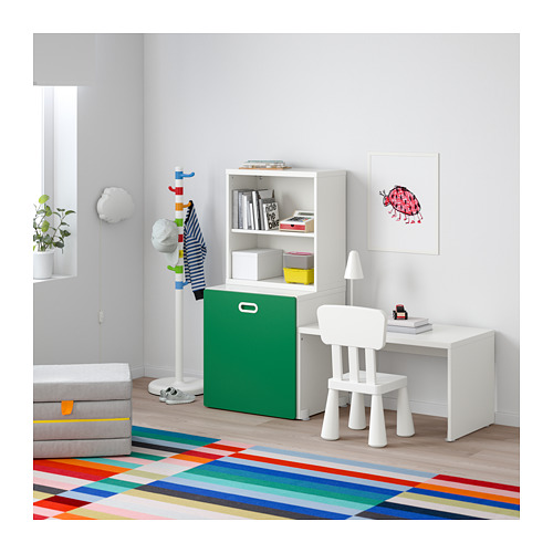 FRITIDS/STUVA table with toy storage