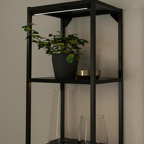 SKYDRAG - LED櫃台板抽屜燈附感應器, 可調式 炭黑色   IKEA 香港及澳門 - PE790518_S4