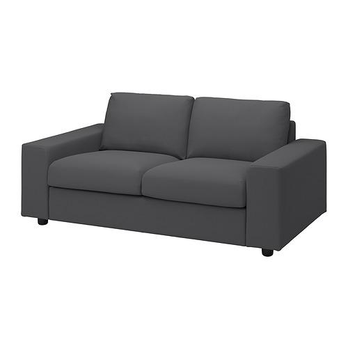 VIMLE - 兩座位梳化, 有寬闊扶手/Hallarp 灰色 | IKEA 香港及澳門 - PE836075_S4