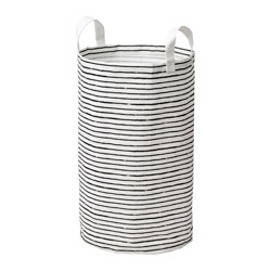 KLUNKA - 洗衣袋, 白色/黑色 | IKEA 香港及澳門 - PE646488_S3