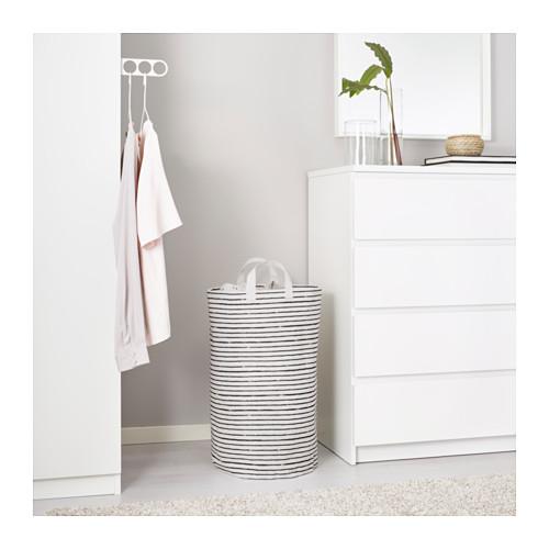 KLUNKA - 洗衣袋, 白色/黑色 | IKEA 香港及澳門 - PE646489_S4