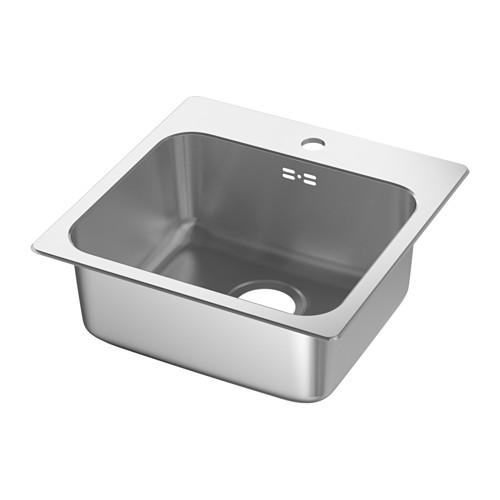 LÅNGUDDEN - inset sink, 1 bowl, stainless steel | IKEA Hong Kong and Macau - PE584500_S4
