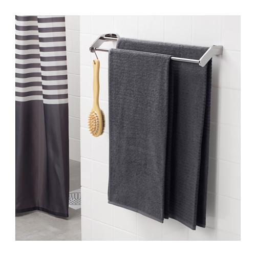 VÅGSJÖN - bath towel, dark grey | IKEA Hong Kong and Macau - PE646542_S4