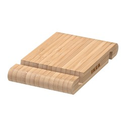 BERGENES - holder for mobile phone/tablet, bamboo | IKEA Hong Kong and Macau - PE737412_S3