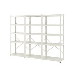 BROR - 層架組合, 254x40x190 cm, 白色   IKEA 香港及澳門 - PE737434_S3