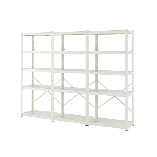 BROR - 層架組合, 254x40x190 cm, 白色 | IKEA 香港及澳門 - PE737434_S4