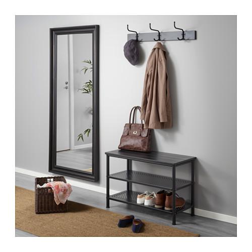 PINNIG - rack with 3 hooks, black   IKEA Hong Kong and Macau - PE646665_S4