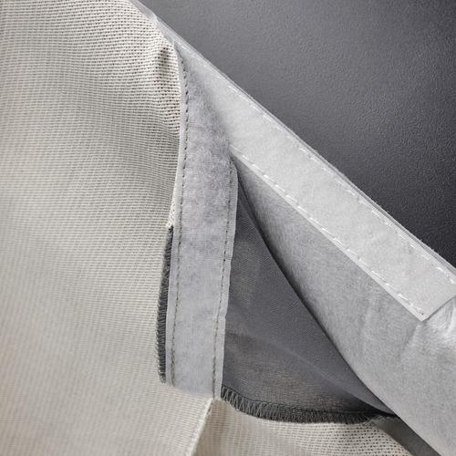 BERGMUND - chair cover, long, Kolboda beige/dark grey | IKEA Hong Kong and Macau - PE790660_S4