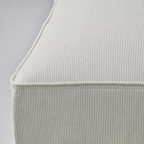 BERGMUND - chair cover, long, Kolboda beige/dark grey | IKEA Hong Kong and Macau - PE790662_S4