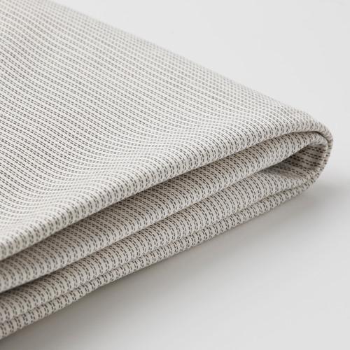 BERGMUND - chair cover, long, Kolboda beige/dark grey | IKEA Hong Kong and Macau - PE790661_S4