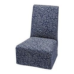 BERGMUND - chair cover, medium long, Ryrane dark blue | IKEA Hong Kong and Macau - PE790670_S3