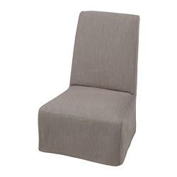 BERGMUND - chair cover, medium long, Nolhaga grey/beige | IKEA Hong Kong and Macau - PE790679_S3