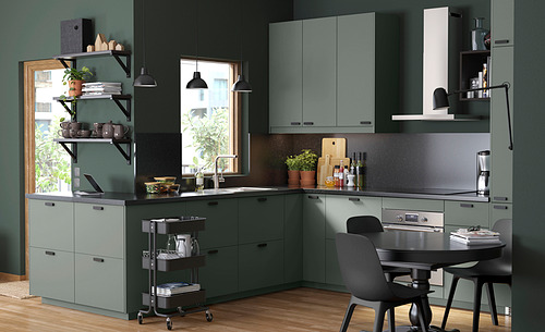 METOD - 吊櫃連推按式開關, 白色/Bodarp 灰綠色   IKEA 香港及澳門 - PH165000_S4
