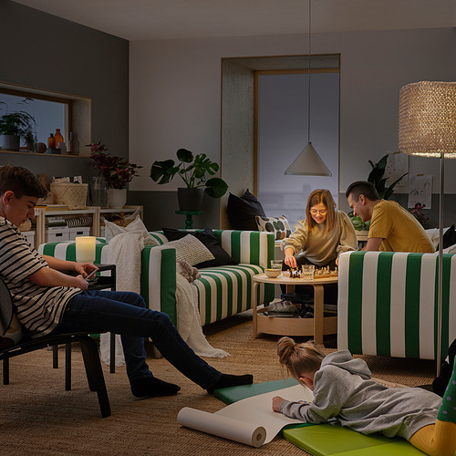 KLIPPAN - 2-seat sofa, Radbyn green/white | IKEA Hong Kong and Macau - PH179242_S4
