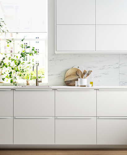 METOD - 雙門吊櫃連推按式開關, 白色/Veddinge 白色 | IKEA 香港及澳門 - PH171267_S4