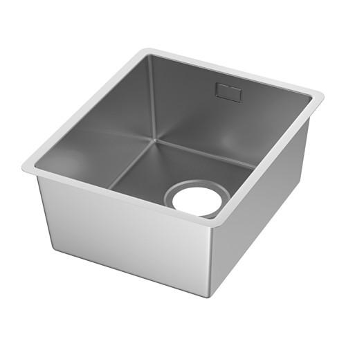 NORRSJÖN inset sink, 1 bowl