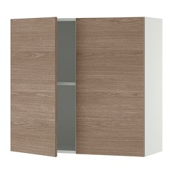 KNOXHULT - wall cabinet with doors, wood effect/grey | IKEA Hong Kong and Macau - PE694852_S3