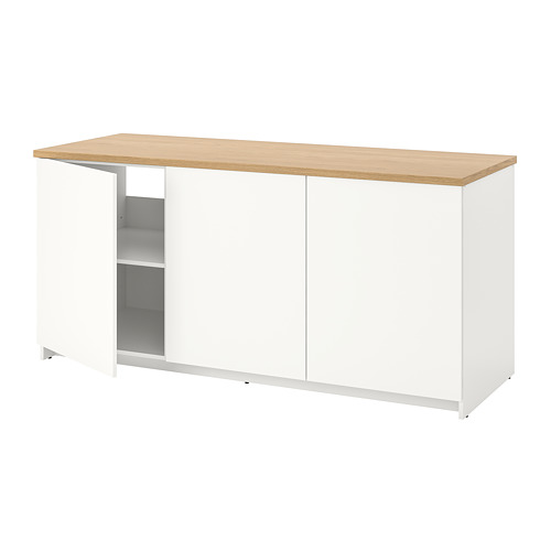 KNOXHULT - 連門地櫃, 白色   IKEA 香港及澳門 - PE694861_S4