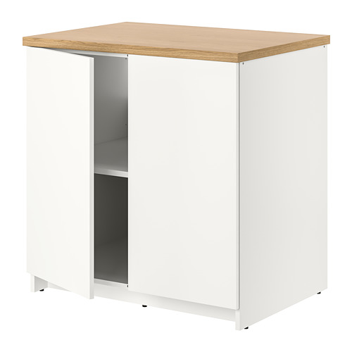 KNOXHULT - base cabinet with doors, white | IKEA Hong Kong and Macau - PE694869_S4
