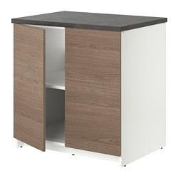 KNOXHULT - 連門地櫃, 木紋/灰色 | IKEA 香港及澳門 - PE694875_S3