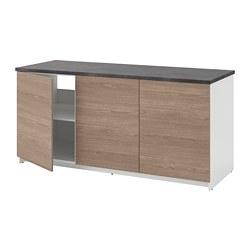 KNOXHULT - base cabinet with doors, wood effect/grey | IKEA Hong Kong and Macau - PE694862_S3