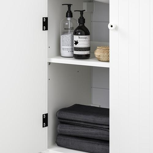 TÄLLEVIKEN/SILVERÅN 雙門洗手盆櫃